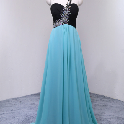 Charming Long Chiffon Prom Dresses ..