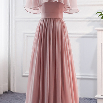 Long Bridesmaid Dress, Mismatched B..