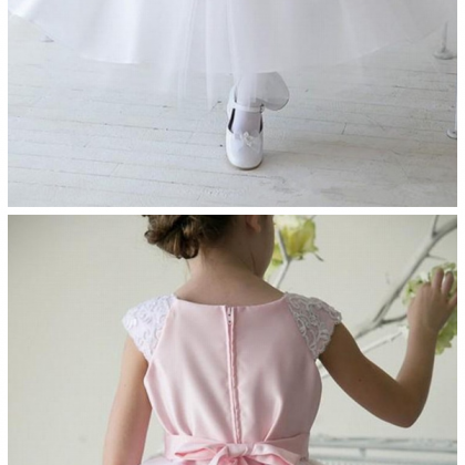 Girl Kids Clothes Lace Flower Girls..