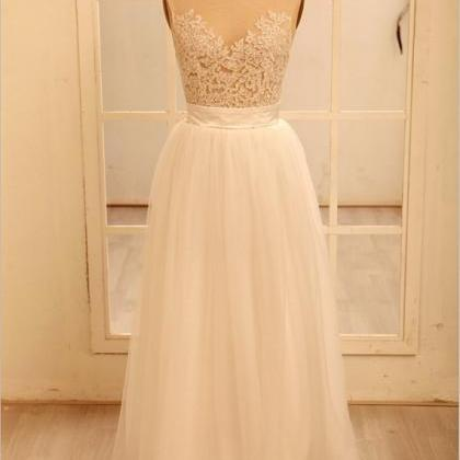 Custom Sexy Lace Backless Wedding D..