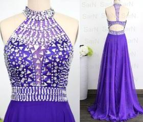 Purple Formal Gown, ..