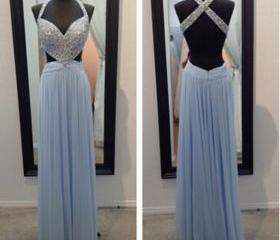 Blue Prom Dresses,Sp..