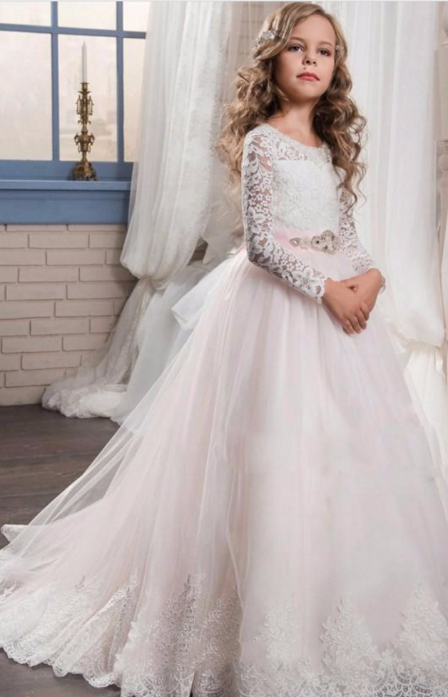 57d128321ce Flower Girl Dress