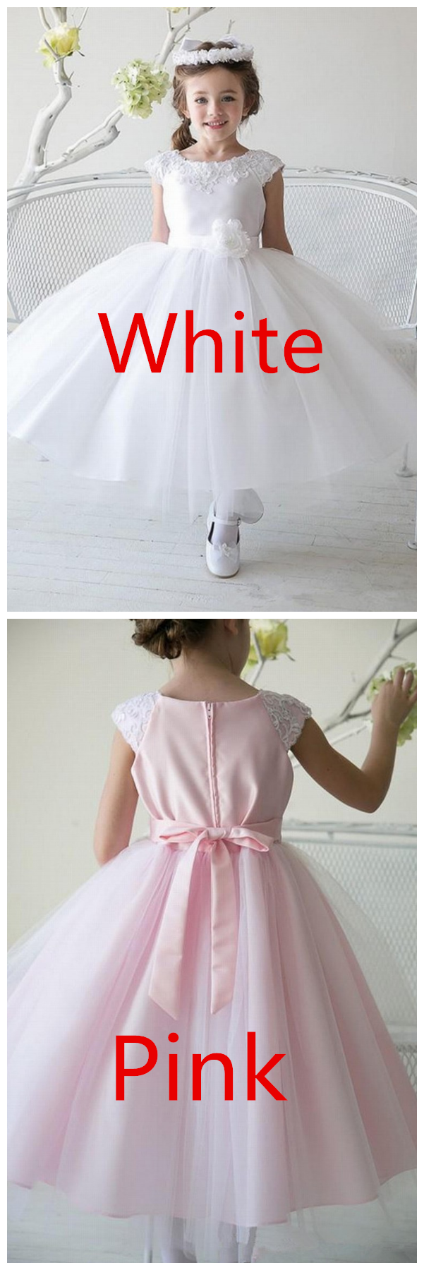 Girl Kids Clothes Lace Flower Girls Dress for Wedding Events Party Baby Girl Birthday