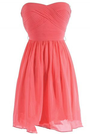 4b5948d63d9 Coral Bridesmaid Dresses