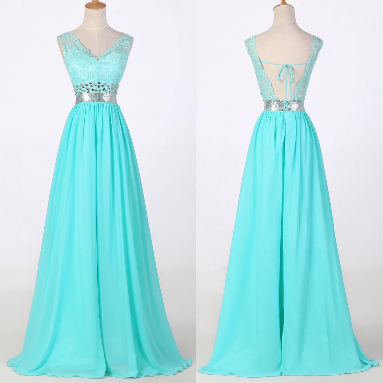 2015 Plus Size Long Dress Prom Evening Gown Ball Party Bridesmaid ...