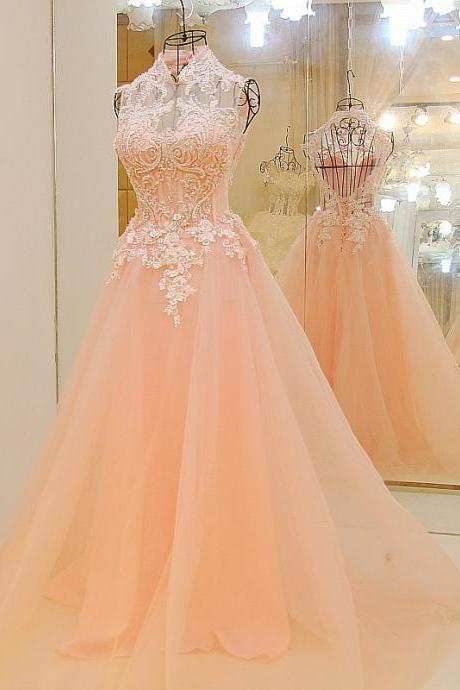 Pink Prom Dresses,Backless Prom Dresses,Long Prom Dresses,Lace Prom Dress,Sparkly Prom Dress,Evening Dresses,Beaded Dresses,Cute Dresses,