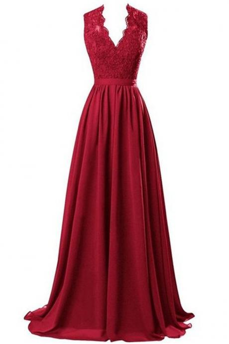 Mother of the Bride Dresses Cheap Burgundy Evening Dresses Longos Vestidos De Noite