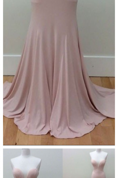 Sweetheart Neck Long Pink Formal Dress Mermaid Simple Sleeveless Prom Dresses