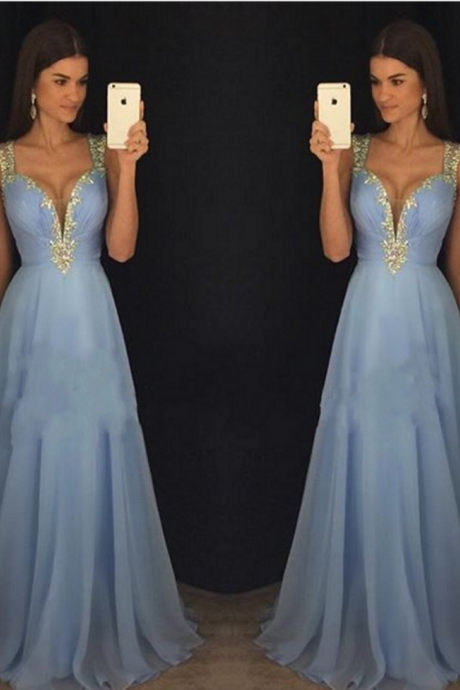 two piece prom dresses,prom dresses with sleeves,long prom dresses ,elegant prom dress,tulle dress