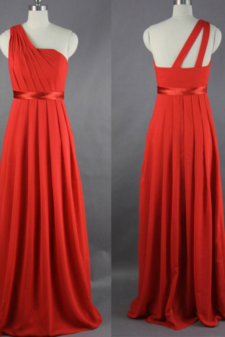Red Prom Dress,New One-Shoulder A-Line Prom Dresses,Long Prom Dresses,Cheap Prom Dresses, Evening Dress Prom Gowns, Formal Women Dress,Prom Dress,Floor-length Prom Dresses,Wedding Guest Prom Gowns, Formal Occasion Dresses,Formal Dress