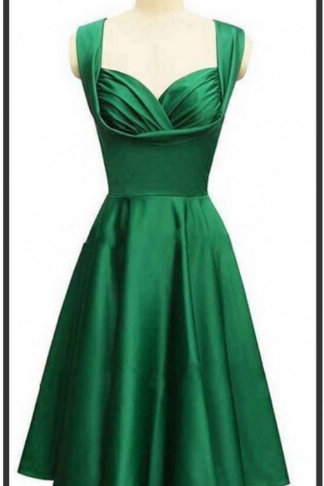 Gorgeous style emerald green knee-length cocktail or homecoming free shipping prom & evening dress formal long vestidos de noiva