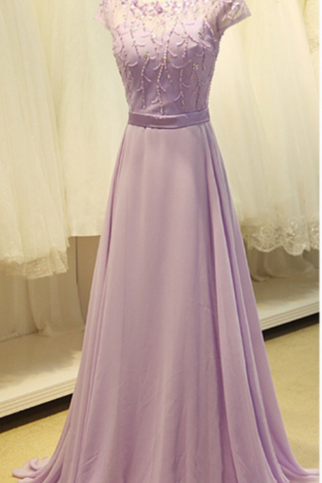 Appliques A-Line Prom Dresses,Long Prom Dresses,Cheap Prom Dresses, Evening Dress
