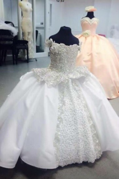 Amazing Princess Ball Gown Flower Girl Dresses 2019