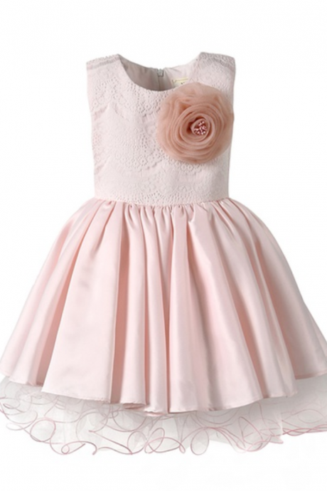 Children Dress,Flower Girls Dresses,Kids Dress,Child Clothing,Girl Brithday Party Dress,Princess Dress,Girl Party DressElegant A-line baby tutu pageant clothes flower girl dress,bridesmaid Dress