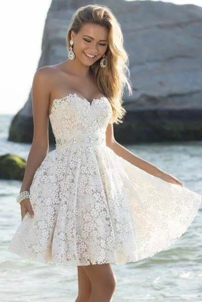 Short Graduation Dress Lace Graduation Dress Sweetheart Graduation Dress Dress For Graduation