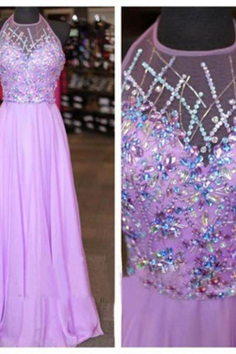 Lilac Prom Dresses, Beaded Prom Dress, Sexy Prom Dresses, Cheap Prom Dresses, Prom Dresses, Sexy Prom Dresses, Dresses For Prom