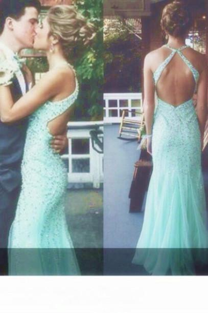 Beads Prom Dresses, Floor-Length Prom Dresses, Sexy Halter Prom Dresses, Sheath Sequins Prom Dresses, Charming Prom Dresses, Prom Dresses On Sale