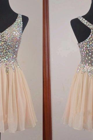 Homecoming Dresses, Sexy Homecoming Dresses,Junior Homecoming Dresses,Rhinestone homecoming dress, see through Off shoulder homecoming dress, short homecoming dresses, 2016 homecoming dress, short prom dresses