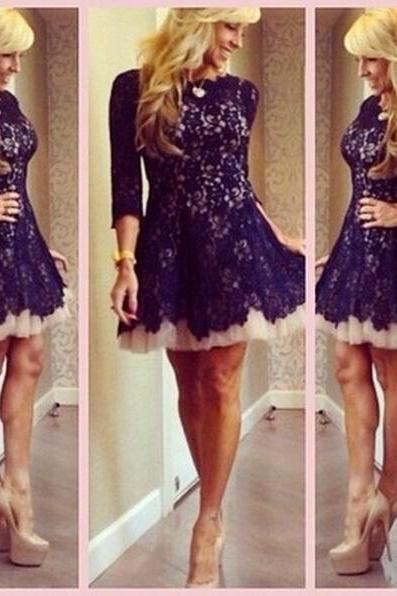 Homecoming Dresses,Junior Homecoming Dresses,Lace Open back homecoming dress, Sexy homecoming dress, short homecoming dresses, 2016 homecoming dress, short prom dresses, homecoming dress