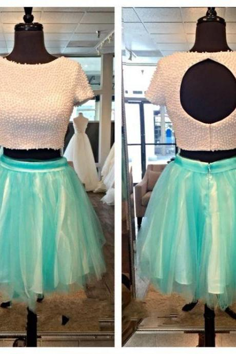 Homecoming Dresses,Junior Homecoming Dresses,Short sleeve homecoming dress, open back homecoming dress, short homecoming dresses, 2016 homecoming dress, short prom dresses, homecoming dress