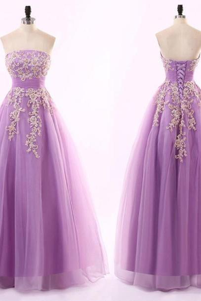 Princess Prom Dresses,Pageant Dresses Floor Length, Tulle Ball Gown Prom Dresses