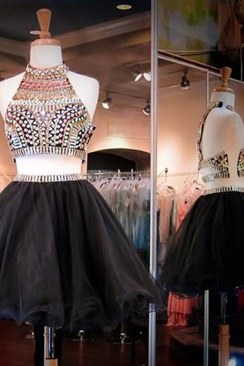 Homecoming Dresses,Short Prom Gown,Black Homecoming Gowns,Sweet 16 Dress,Elegant Homecoming Dresses,Short Evening Dress