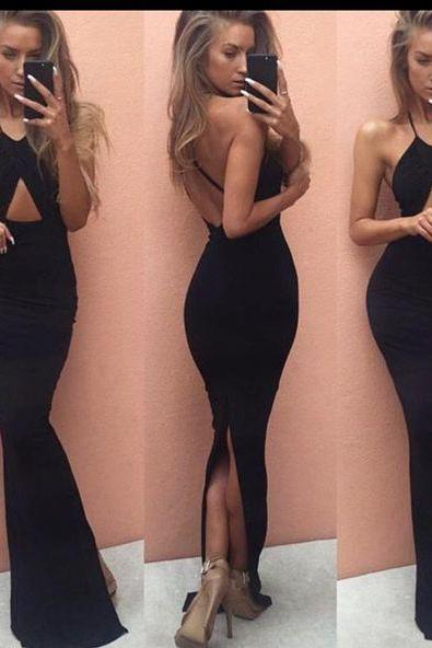 Evening Dresses, Prom Dresses,New Arrival Prom Dress,Chic prom dress,stylish black mermaid long prom dresses,formal dress,party gown
