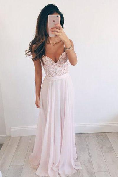 Evening Dresses, Prom Dresses,New Arrival Prom Dress, long prom dresses,elegant A-line sweetheart lace long evening dresses, formal dress,fashion dress for teens