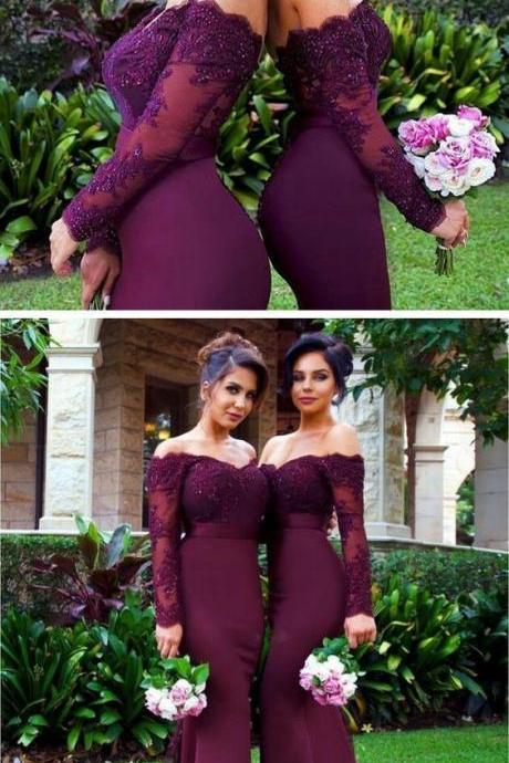 burgundy prom dress,burgundy bridesmaid dress,mermaid evening dresses,sexy long prom dress,bridesmaid dresses,prom dresses,party dresses