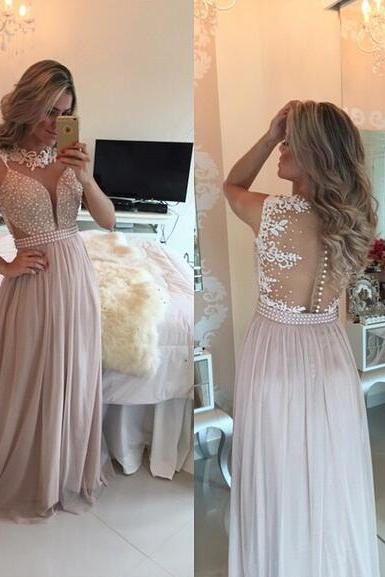 Evening Dresses, Prom Dresses,Party Dresses,Prom Dress, Prom Dresses, Prom Dresses,chiffon Prom Gown,Pretty Off Shoulder Chiffon pink Prom Dresses With Lace, Evening Gowns, Formal Dresses, pink Prom Dresses