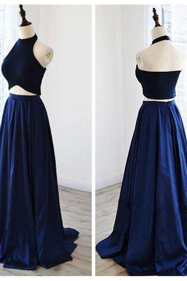 Evening Dresses, Prom Dresses,Party Dresses,Prom Dress, Prom Dresses, Prom Dresses,Charming Prom Dress,2 Pieces Prom Dress,Halter Prom Dresses,Satin Evening Dress,Wedding Guest Prom Gowns, Formal Occasion Dresses,Formal Dress