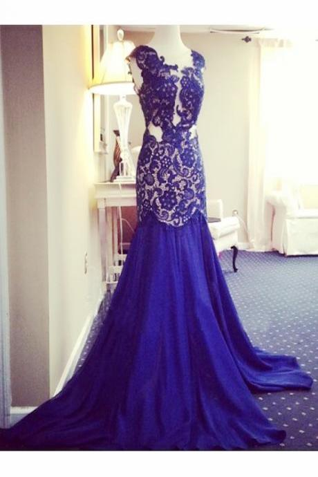 purple prom dress, lace prom dress, mermaid prom dress, cheap prom dress, high slit prom dress, backless prom dress