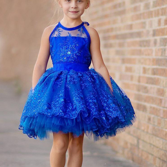 New Arrival Beauty Girl Pageant Dresses Short Formal Girl Gowns