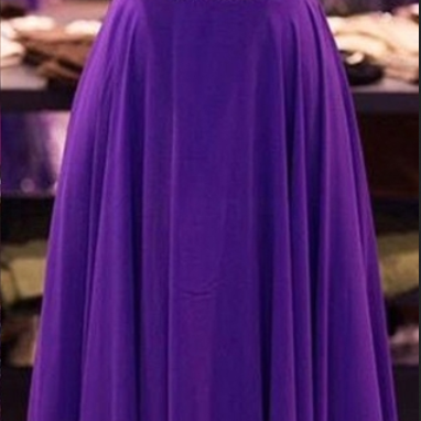 Design Purple Beaded Prom Dress,Open Back Prom Dresses,Charming Evening Dresses,Evening Gowns,Elegant Party Dresses