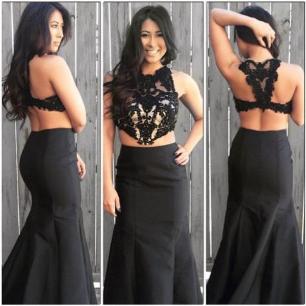 2016 Appliques Prom Dresses, O-Neck Floor-Length Prom Dresses, Real Made Evening Dresses ,Satin Evening Dresses, Evening Dresses On Sale