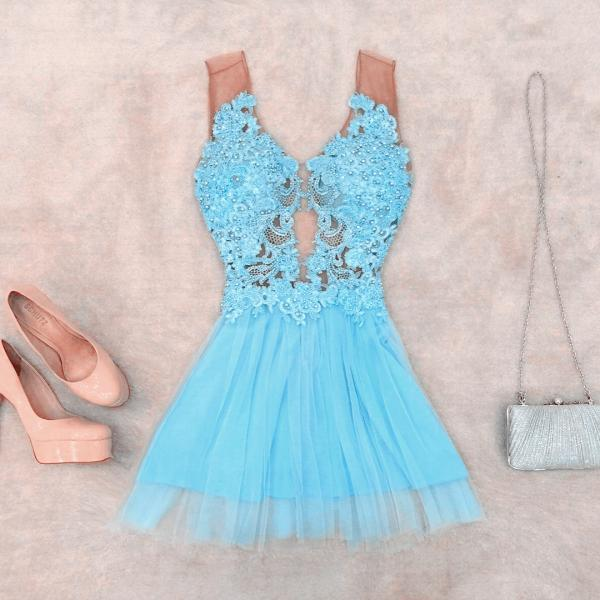 Party Dresses,Homecoming Dresses,Turquoise Party Dresses,Lace Beaded Homecoming Dresses,Short Sweetheart Prom Dress,Elegant Prom Gowns 2017,Women's Cocktail Dress