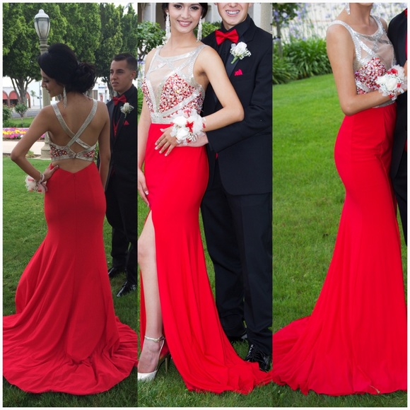 Evening Dresses, Prom Dresses,Party Dresses,Red Prom Dresses,Prom Dress,Red Prom Gown,Prom Gowns,Elegant Evening Dress,Modest Evening Gowns,Simple Party Gowns